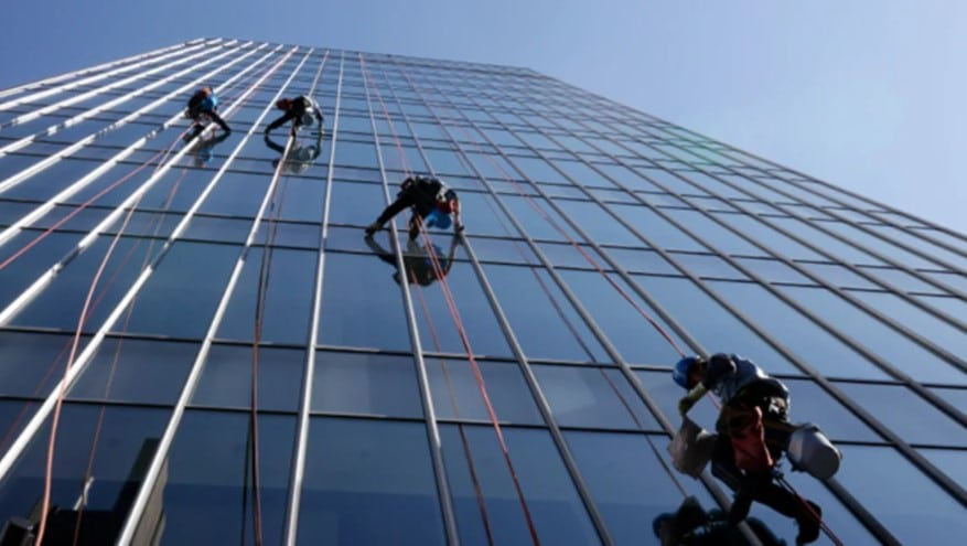 window washers pay scale