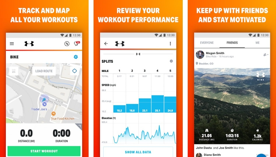 MapMyRide - for all your fitness endeavors