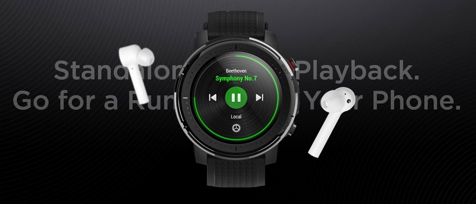 Amazfit Stratos 3 Storage and Performance
