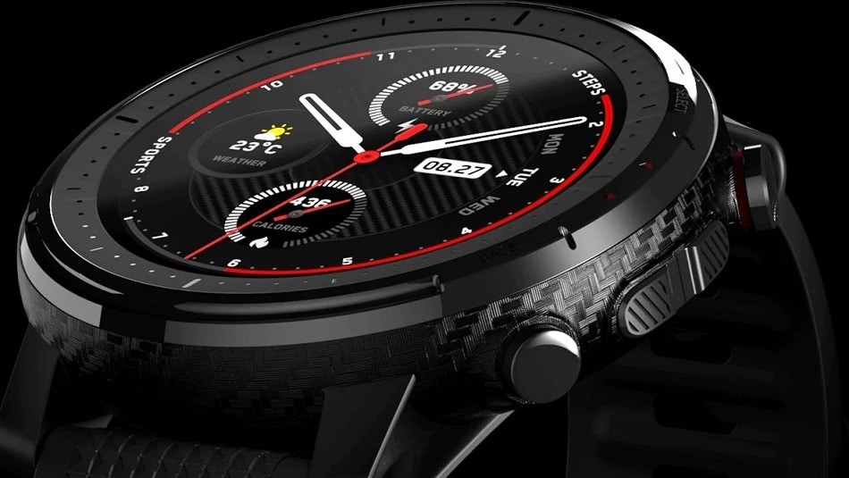Amazfit Stratos 3 display feature