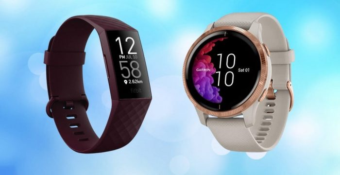 Fitbit Vs. Garmin smartwatches