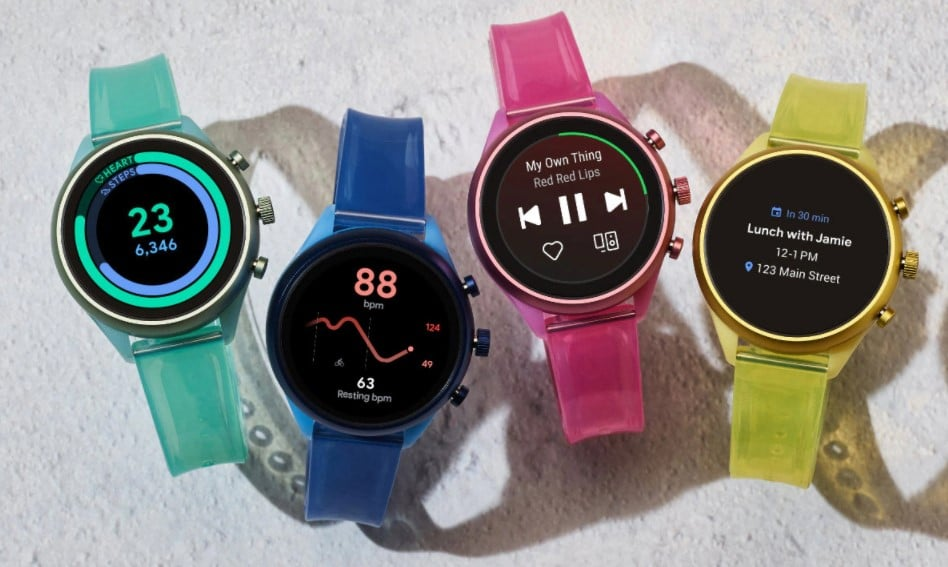 Fossil Sport Smartwatch Design and Display