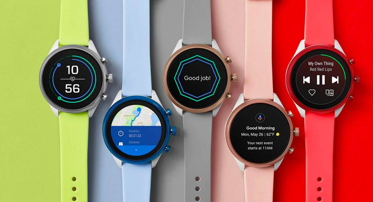Fossil Sport Smartwatch Snapdragon 3100 processor