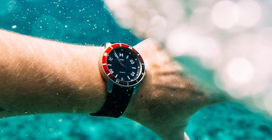 MVMT watches water resistance features