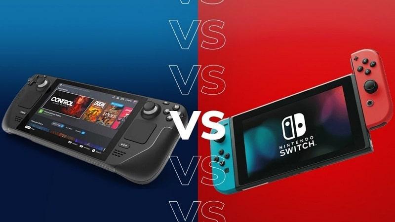 Steam Deck vs. Nintendo Switch
